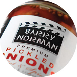 Barry Norman Pickled Onions Logo